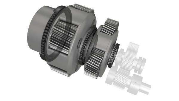 Planet carrier bearings