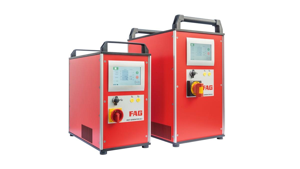Schaeffler vedligeholdelsesprodukter: Mellemfrekvent induktionsopvarmningsudstyr
