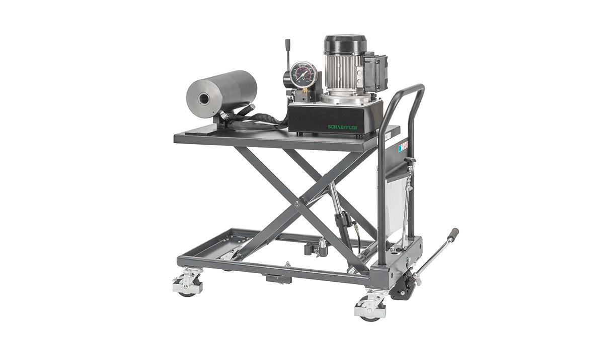 Schaeffler vedligeholdelsesprodukter: Mobilt hydraulikanlæg